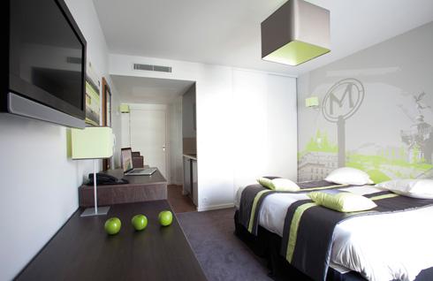 Apart 39 hotel paris boulogne r sidence paris pont de for Residence appart hotel lyon